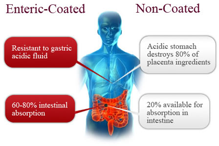 Enteric-coat